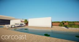 Corcoast | Modern home Minecraft Map & Project