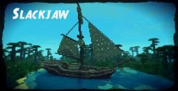 The Slackjaw! single mast pirate ship! Minecraft Map & Project