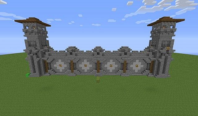 Wall Design V1 Minecraft Project