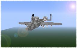 A-10 Warthog! Minecraft Map & Project