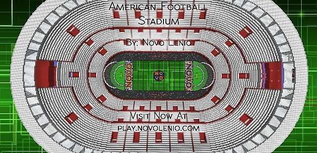 American Football Stadium Minecraft Project