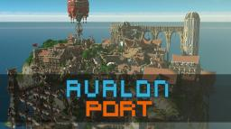 Avalon Port - Home of Trade and culture Minecraft Project