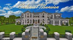 |Colonial Mansion| [Traditional] [DBS] [TBS app] Minecraft Map & Project