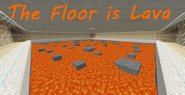 The Floor Is Lava Pvp Map Minecraft Project