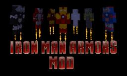 Iron Man Armors Mod Minecraft