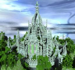 A Fantasy Tower (Elftower)+ Download map Minecraft