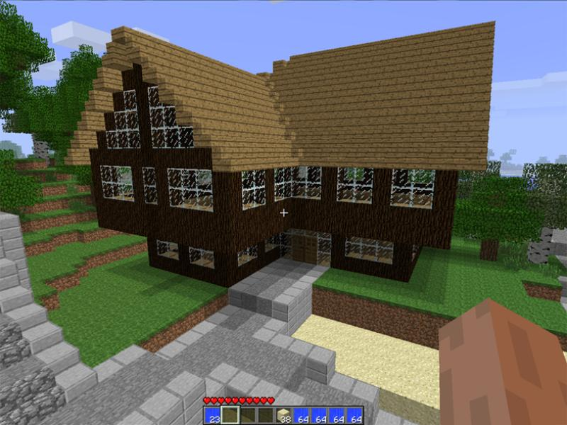 Large Village House | From My Minecraft Village Minecraft