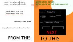 MCreator Minecraft Blog Post