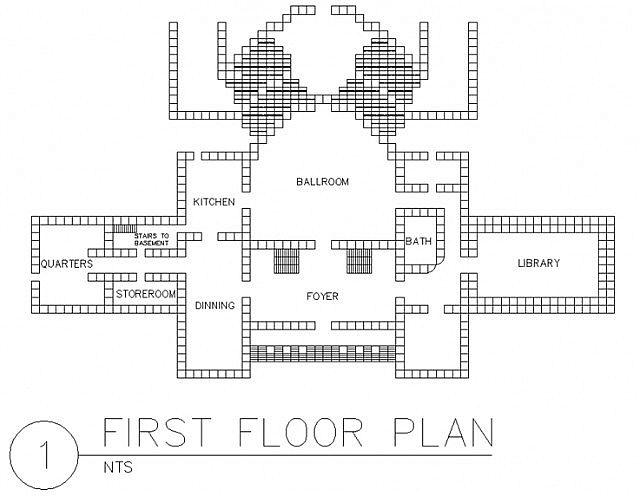 Gallery For Minecraft Mansion Blueprint