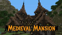 Rustic Medieval Mansion Minecraft Map & Project