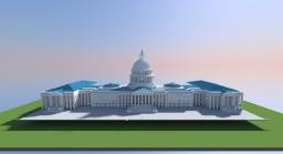 US Capitol Building Minecraft Map & Project