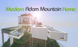 Modern Adam Mountain Home Minecraft Project
