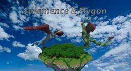 Salamence & Flygon Minecraft Map & Project