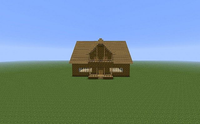The Porch House Minecraft Project