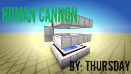 Human Cannon! (450 Blocks) Minecraft