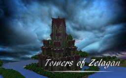 The Towers of Zelagan! [Cinematic HD1080p + Download] Minecraft