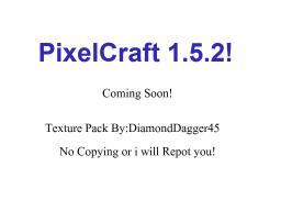 PixelCraft 1.5.2