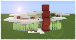 Modern Designer House Minecraft Map & Project