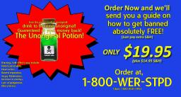 The Unoriginal potion! How to make an unoriginal post the easy way! [Totally not like an infomercial] [Hello homepage]