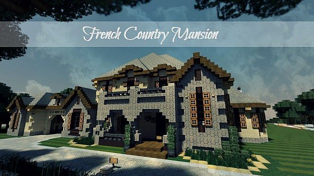 French Country Chateau 2 Thank You 300 Subs Minecraft Project