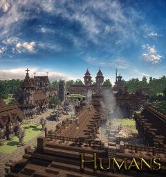 Farrain - human city Minecraft