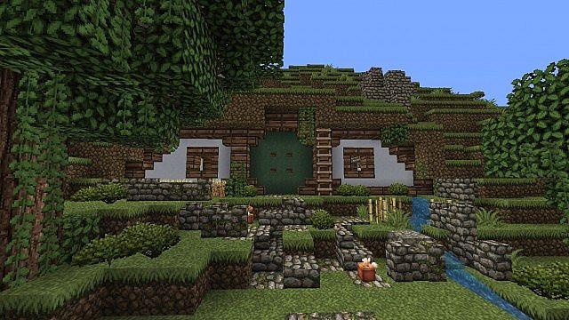 Hobbit Hole Minecraft Project