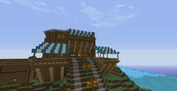 Big Medieval House Minecraft Map & Project