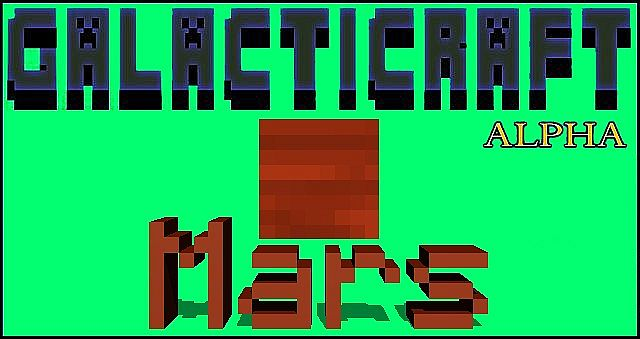 1.6.3WIP Galacticraft Mars - SMP Support - ALPHA 0.1.1 ...