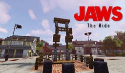 Universal Jaws The ride and Amity Island Minecraft Map & Project