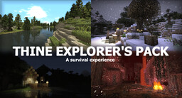 Thine Explorer's Pack [1.15-1.16-1.5.2] - x16 - Better than Wolves Support (WIP) Minecraft Texture Pack