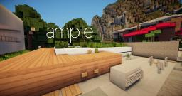 Ample | Modern eco house Minecraft Project