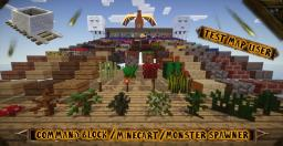 Minecraft Review Map to Display or Test  you Texture / Resource packs Minecraft Map & Project
