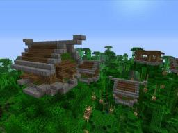 Nordic Jungle Village Minecraft Project
