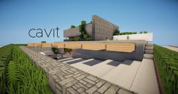 Cavit | Modern home Minecraft Map & Project