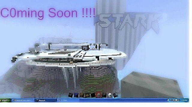 Tony Stark Dream House C0ming Soon Minecraft Project