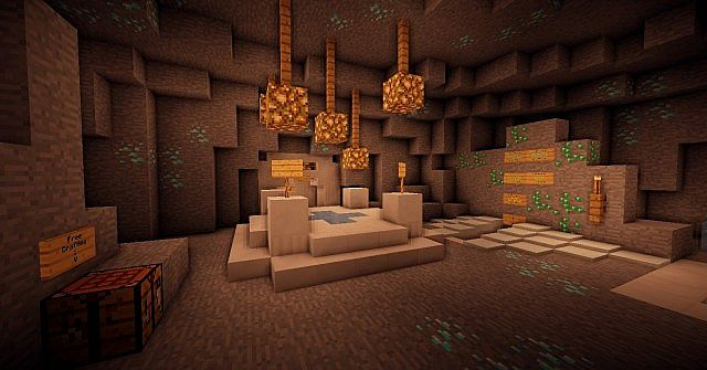 This is where you will spawn into the server!