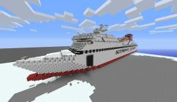 M/s Visby Minecraft Map & Project