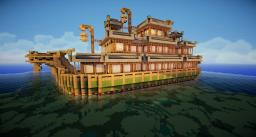 Grand Dragon Boat Minecraft Map & Project