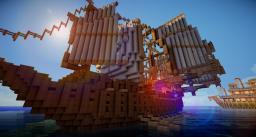 The Wind Sailer Minecraft Map & Project