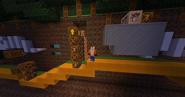 Texture Pack Crash Bandicoot x128 1 5 2 Minecraft Texture Pack