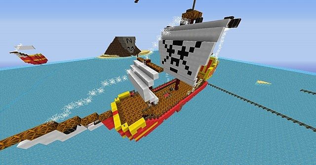 A boat in the level 5.