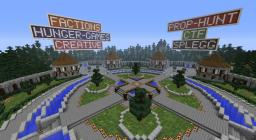 Spawn Hub Minecraft Project