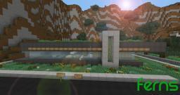 Ferns | Minimalist Eco House Minecraft Map & Project