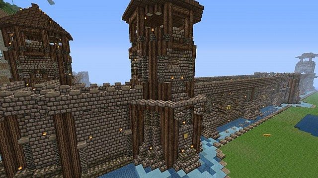 Ancient Wall Tower Minecraft Map