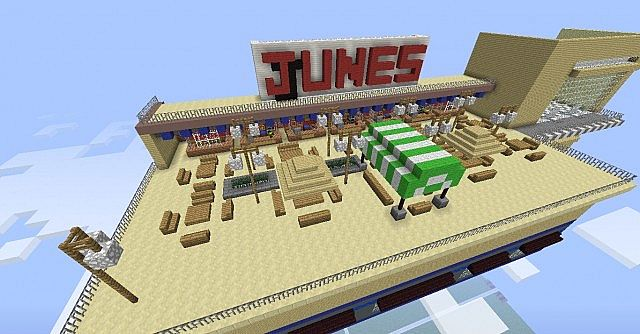 The Junes Food Court.