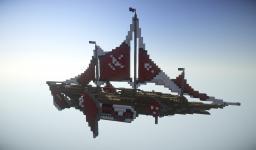 Hms Sidrat, fantasy airship Minecraft Project
