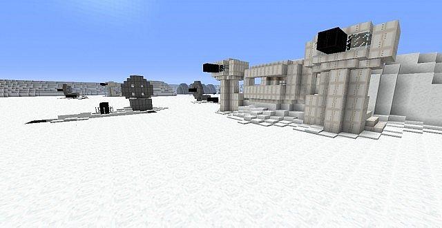 Minecraft star wars battlefront 2 hoth minecraft project