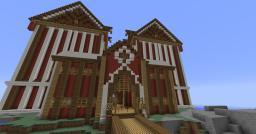 Fancy Barn Minecraft Map & Project
