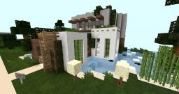 My first modern house (2013) Minecraft Map & Project