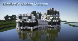 Minelord's Modern Mansion Project Minecraft Map & Project
